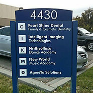 Most Aesthetic Wayfinding Signage At Logos Sign Studio