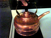 Whistling Simplex Copper Kettle