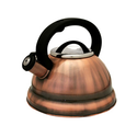 Tea Kettle 2.8 L Heavy Gauge Stainless Steel Whistling heavy Gage - Copper