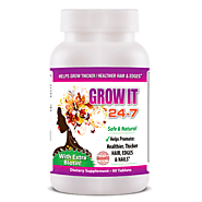 Grow It 24-7 Thicker Healthier (Hair, Edges & Nails) - FREE SHIPPING – 24 7 Lose Weight