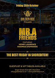 Friday Event with Mr.A & Friends