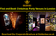 Find and Book Christmas Party Venues in London