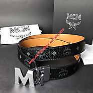 MCM Claus Reversible Belt In Black