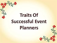 Traits of Successful Event Planners