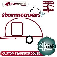 Teardrop Camper / Pod Camper StormCover 3 Piece Zip on Cover | Hail Protection Cover