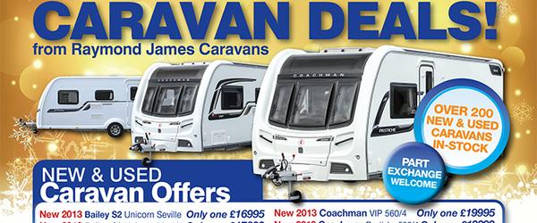 Headline for New & Used Caravans for Sale