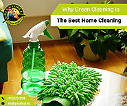 Why is Green Cleaning the Best Home Cleaning Method?