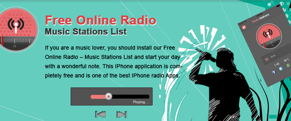 Headline for Free Online Radio – Music Stations List