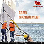 How can a crew management company help improve shipping services