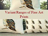 Variant Ranges of Fine Art Prints