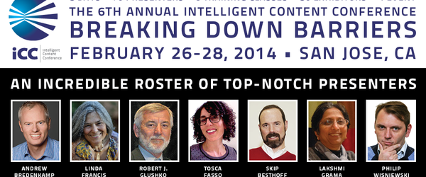 Headline for Intelligent Content Conference - Speakers & Attendees #ICC2024