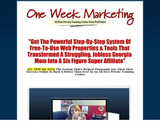 Official One Week Marketing Training Center from PotPieGirl | One Week Marketing