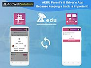 AEDU Parent's & Driver's App - Because Keeping a Track is Important! | AddWeb Solution