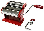 Metro Fulfillment House Italian Style Pasta Maker, Red Finish