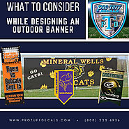 Things to Consider While Designing an Outdoor Banner