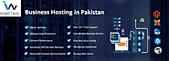 SSD Business Hosting in Pakistan - Corporate Email Hosting | WebITech