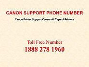Canon Support Phone Number Is Active To Resolve Problems