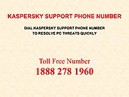Dial Kaspersky Support Phone Number For Antivirus Issues