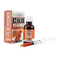 CBD Oil for Dogs | King Kalm CBD 150mg - Best CBD For Dogs Anxiety | King Kanine