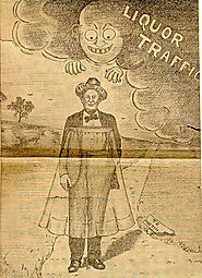"Political Cartoon of ""Pa"" Ferguson"