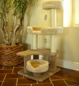 Majestic Pet 55 Inch Cat Tree Jungle Gym Tower