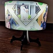 Tree Lit - Personalized Cirle Lamp Shade