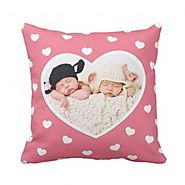 Buy or Send Sweet Hearts Custom Photo Pillow - OyeGifts.com