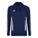 Adidas Tiro 11 Hoodie Blue from Sportswearsupermarket.com | The discount clearance specialists