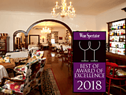 Grand Old House Honored With Wine Spectator Restaurant Award 2018
