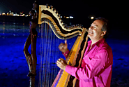 Harpist Extraordinaire: Among the many Attractions in the Cayman Islands!
