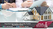 Important Information About the Turkish Real Estate Sector