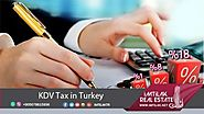 KDV Tax in Turkey