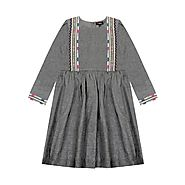 Claudia Dress – Luxury designer baby dresses
