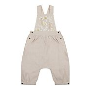 Designer Girls' Dungaree | Luxury Childrens Wear – Velveteen