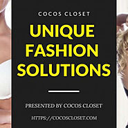 Cocos Closet - Unique Fashion, Beauty and Home Solutions For You | Visual.ly