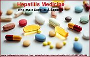 Hepatitis Medicines Wholesale Supplier and Exporter from India