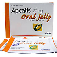 Apcalis Oral Jelly - Buy Apcalis Oral Jelly 20mg Tablets online in uk