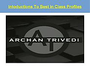 Intoductions to best in class profiles