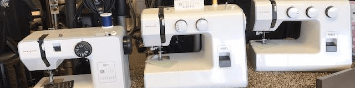 Headline for The 5 best reasons you should buy your sewing machine from AAA Sew & Vac!