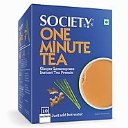 Shop Online Society One Minute Tea Ginger Lemongrass at Best Price - Society Tea