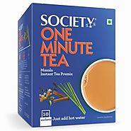 Shop Online Society One Minute Tea Masala Online at Best Price in India - Society Tea