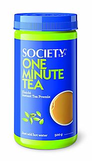Shop Online Society One Minute Tea Elaichi Premix - (500gms Jar) at Best Price - Society Tea