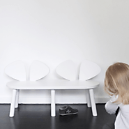NoFred Mouse Bench Chair | White – The Mum Life