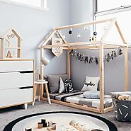 Toddler House Bed Frame – The Mum Life