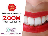 Zoom Teeth Whitening Special Offers - Healthy Smiles