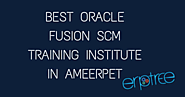 Oracle Fusion SCM Training in Ameerpet