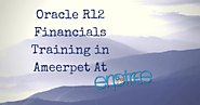 Oracle R12 Financials Training in Ameerpet