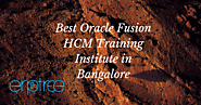 Oracle Fusion HCM Training in Bangalore