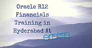 Oracle R12 Financials Training in Hyderabad