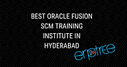 The Best Training for Oracle Fusion SCM Training